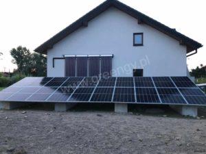 Instalacja fotowoltaiczna Greengy 7,5 kW oraz solary woj. mazowieckie